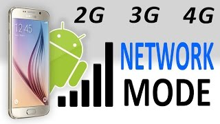 How To Change 2G/3G/4G Only Network Mode On Any Android Smartphone │DROID GEN
