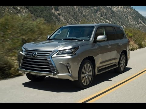 2016 Lexus LX570 Start Up and Review 5.7 L V8