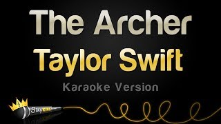 Taylor Swift   The Archer (Karaoke Version)