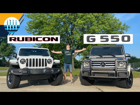 Jeep Wrangler Rubicon vs Mercedes G550 - Dressed-Up or Bare-Chest Off-Roading