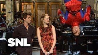Monologue: Emma Stone on Spider-Man - SNL