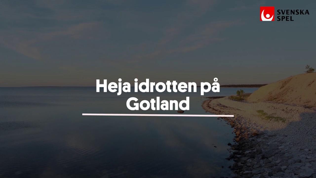 Svenska Spel - Heja idrotten på Gotland