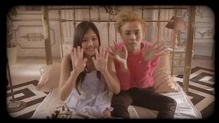 [UNSEEN] behind the scenes G-DRAGON and blackpink JENNIE (predebut) in  'THAT XX' (그 XX) M/V