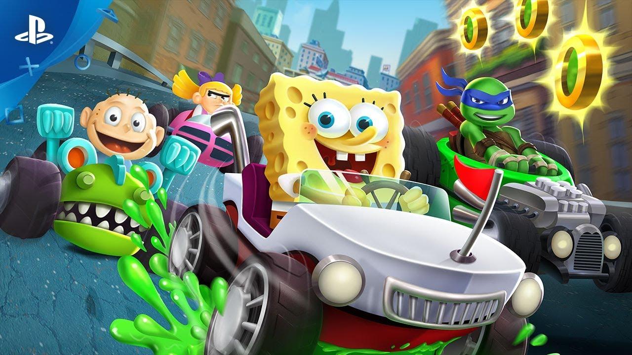 Así se usa la Baba Verde para Obtener un Gran Efecto en Nickelodeon Kart Racers