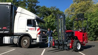 The Moffett Truck Mounted Fork-Lift - 60 Second Challenge!!