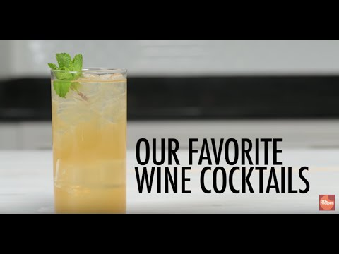 Our Favorite Wine Cocktails