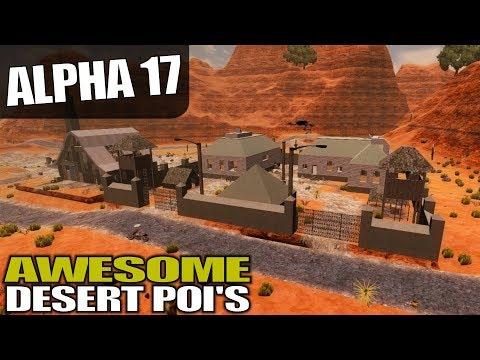 ALPHA 17 | COOL DESERT POI'S | 7 Days to Die Alpha 17 Gameplay | S17.3E23 (видео)