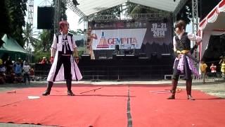 Heisuke & Harada Kesasar Di Borobudur