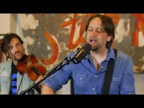 "Screenshot from the Creek Session featuring Hayes Carll: ""None Ya"""
