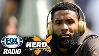 Colin Cowherd - Browns Should STRONGLY Consider Trading Odell Beckham Jr.