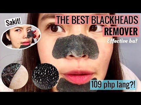 BLACKHEAD NOSE PORE STRIPS IN WATSONS | GRABE! TANGGAL LAHAT