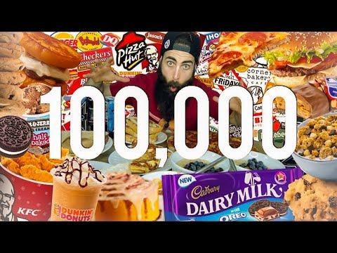 The 100,000 Calorie Challenge   BeardMeatsFood