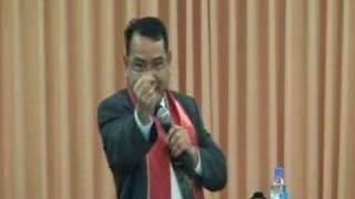 """""""Berkomunikasi"""" Kotbah 10 February 2008 (video 3/7)"""