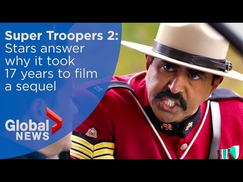 'Super Troopers 2' stars get lesson in Canadiana