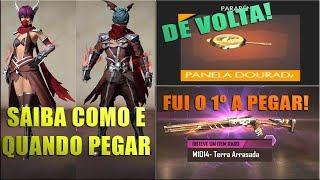 PANELA DOURADA DE VOLTA, SAIBA COMO PEGAR AS SKINS DO RAGNAROK, BÔNUS DE DIAMANTES E MAIS!