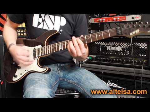 ESP Ltd Elite ST-1 Demo ( The Wicker Man Cover )