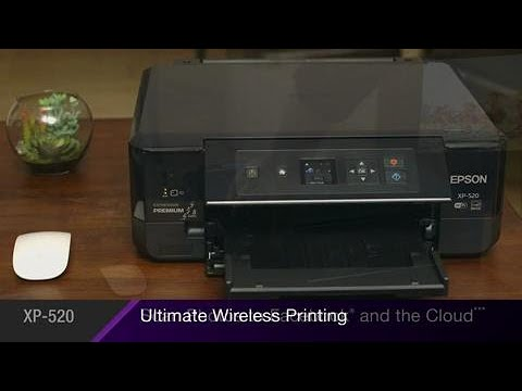Epson Expression Premium XP-520 | Take the Tour of the Small-in-One All-in-One Printer