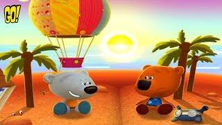 Ми ми Мишки Путешествие на Воздушном шаре Интерактивная книжка детский игровой Мультфильм