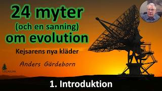 Thumbnail for video: Myter om Evolution - 1. Introduktion
