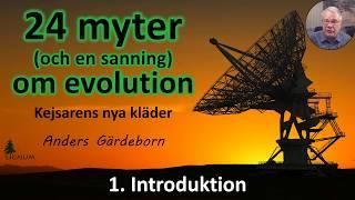 Thumbnail for video: Myter om Evolution - 1. Introduktion