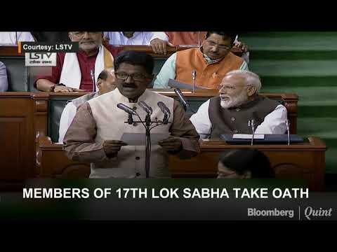 Members Of 17th Lok Sabha Take Oath