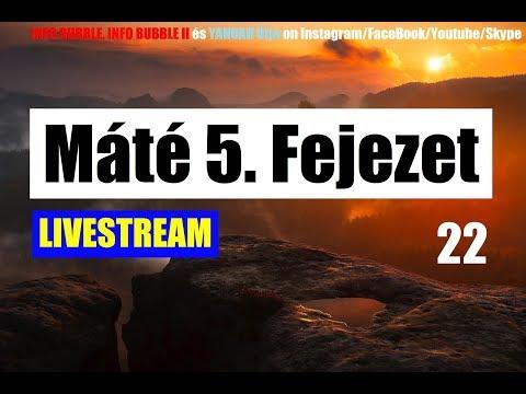 A TISZTA SZÍVŰEK - Máté 5. Fejezet 22.Rész - 19.00 - YAHUAH Útja Live 20181201 letöltés