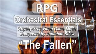 """Free Video Game Music - """"The Fallen"""" (RPG Orchestral Essentials)"""