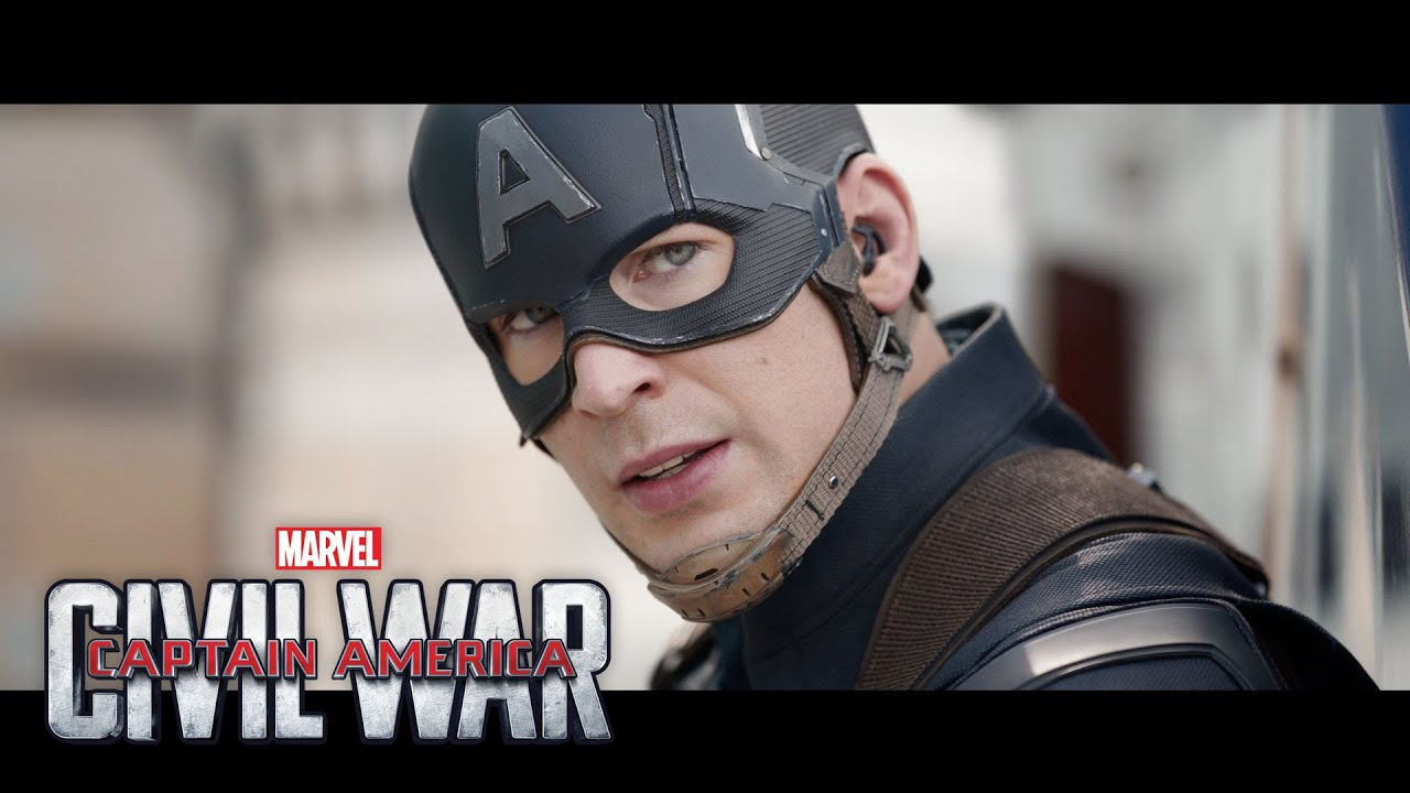 Movie Trailer #2:  Captain America: Civil War (2016)