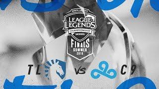 TL vs. C9 | Finals Game 1 | NA LCS Summer Playoffs | Team Liquid vs. Cloud9 (2018)