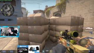 Shroud and Just9n Global matchmaking 20170409