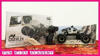 Unboxing Monster Truck Toys For Kids - RC ROCK CRAWLER 1:16 SCALE  - Monster Trucks Toys Review