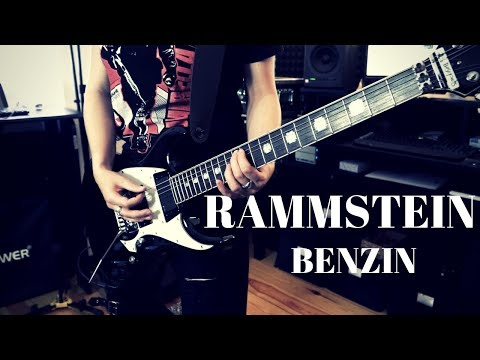 Rammstein - Benzin Live Guitar Cover [4K / MULTICAMERA]