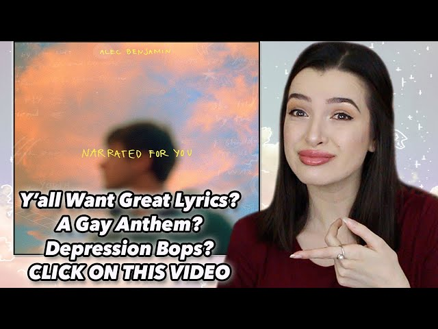 Narrated For You ~ Alec Benjamin Album Reaction