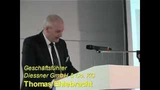 Ansprache im Rahmen der Eröffnung des Symposiums Geschäftsführer Thomas Ehlebracht
