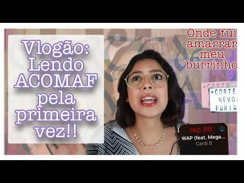 Vlog: lendo Corte de Névoa e Fúria (ACOMAF)