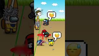 Among Us Heroes play Squid Game - part 1 #Shorts