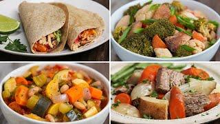 4 Freezer-Prep Slow-Cooker Dinner Packs