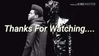 Gesaffelstein & The Weeknd   Lost In The Fire ( Lyrics Video)