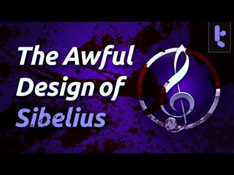 The terrible design of Sibelius causes composer to go on a berserk rage rant