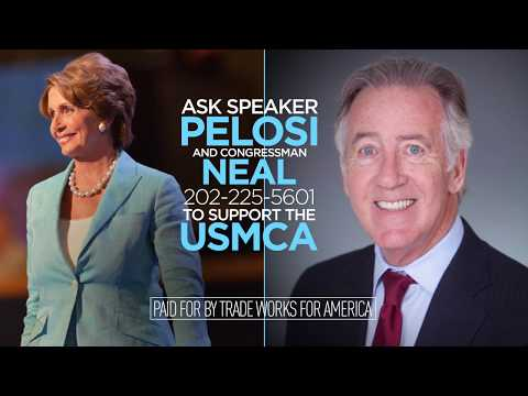 Trade Keeps Massachusetts Growing. Tell Congressman Neal to Support the USMCA