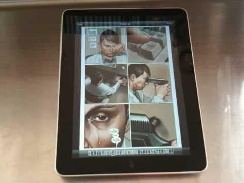 Reading Comics With Marvel's iPad App