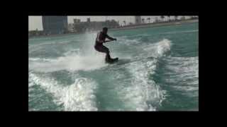 preview picture of video 'Wakeboarder Qatar Adnan  ويك بورد قطرعدنان الحمادي'