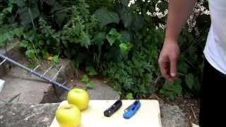 Benchmade 555HG Mini-Griptilian (555HG-PNK) - відео 1