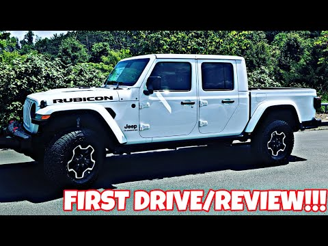 2020 Jeep Gladiator Overland Exterior And Interior Walkaround
