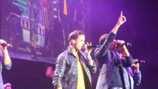 JLS - That's My Girl - Manchester 22/01/11.