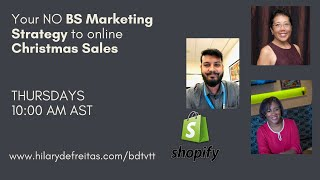 Your No BS Marketing Strategy to online Christmas Sales