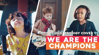 Queen Tribute   We Are The Champions   Child Prodigy Cover | Maati Baani