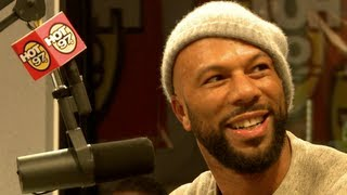 COMMON freestyle on Hot97 Funkmaster Flex Show