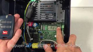 How to program the old type BFT Mitto 2 and Mitto 4 to a BFT