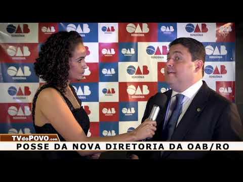 '.Presidente da OAB nacional na posse da diretoria da OAB rondoniense.'